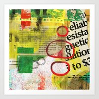 Collage 2 Art Print