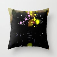 my evil twins Throw Pillow