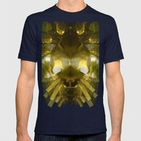 Aquatic Plantlife Mens Fitted Tee Navy SMALL