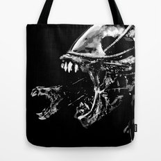 They're coming outta the fucking walls Tote Bag
