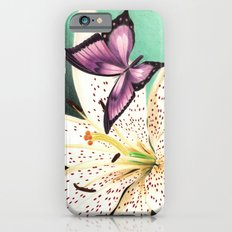 White Lily iPhone 6 Slim Case