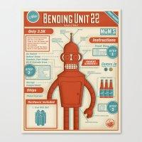 Bending Unit 22 Canvas Print