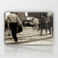 New York City _Rush Hour Laptop & iPad Skin