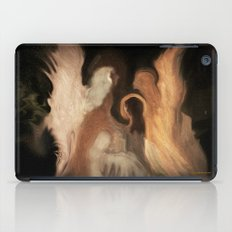 Little Family Of Angels, Abstract, by Sherriofpalmsprings iPad Case