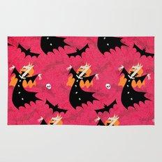 Unicorn Vampire Pattern Rug