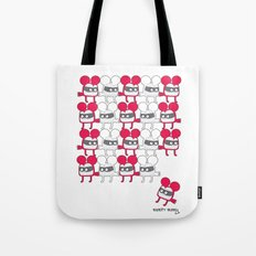 I was looking back to see, if you were looking back at me, to see me looking back at you. Tote Bag