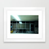 We're All Waiting For That Horror Movie Scene When We're The Victim And Who We Loved Killed Us Framed Art Print