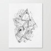 Art of Geometry 2 Canvas Print