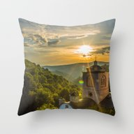 Throw Pillow featuring Monastery In Macedonia by Mindof2-Photo