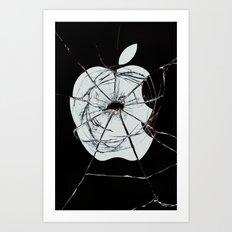 Broken sin Art Print