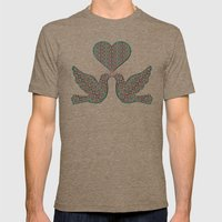Victorian Lace 4 Mens Fitted Tee Tri-Coffee SMALL