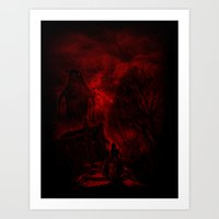 The Unexpected Guest Art Print