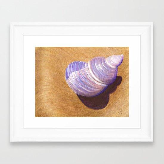 Seashell - Painting Framed Art Print