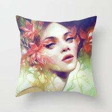 August Throw Pillow