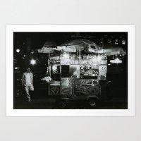 The Night Vendor Art Print