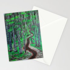Forest Trail Stationery Cards