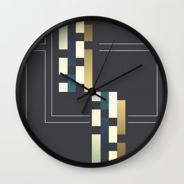 Wall Clock - Abstract #191 - Liall Linz