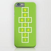 Hopscotch Green iPhone 6 Slim Case