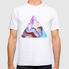Agate, A Vivid Metamorph… Mens Fitted Tee Ash Grey SMALL