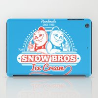 Snow Bros Ice Cream iPad Case