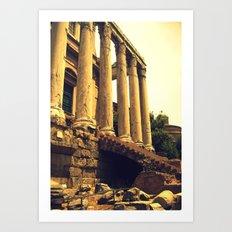 Old Rome. Art Print