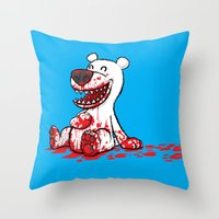 North Vs. South Throw Pillow