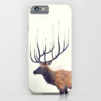 iPhone & iPod Case featuring Elk // Reflect (Left) by Amy Hamilton