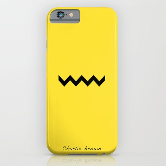 Charile Brown iPhone & iPod Case