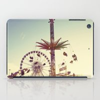 Golden Hour at the Carnival iPad Case