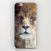 Lion // Majesty iPhone & iPod Skin