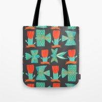 Aztecish Birds Tote Bag