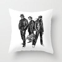 the Legend of Hip Hop Throw Pillow