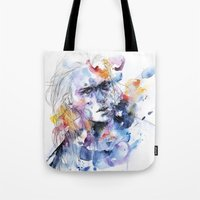 Cold Crossing Tote Bag