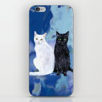 Kingston and Midnight iPhone & iPod Skin