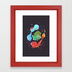 Starters Framed Art Print