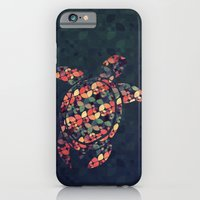 iPhone & iPod Case featuring The Pattern Tortoise by VessDSign