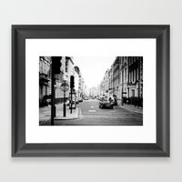 London Street Framed Art Print