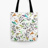 Hummingbirds of North America Field Guide  Tote Bag