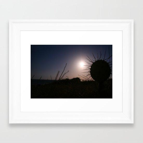 Caribbean Sunset Cabo de la Vela (Jepira)  Framed Art Print