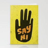 Say Hi. Stationery Cards