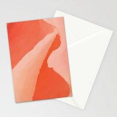 Glitch Rose Stationery Cards