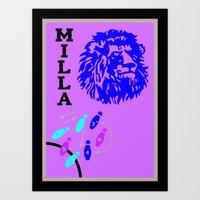 Roger Milla - Old Is Gold Art Print
