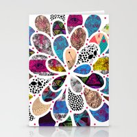 Mystic Flower Stationery Cards