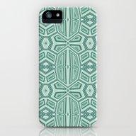 Fancy Tribal Pattern,aqu… iPhone (5, 5s) Slim Case
