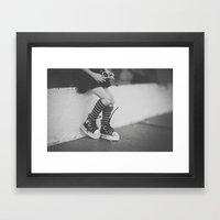 Lomography In The City Framed Art Print