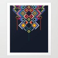TINDA 3 Art Print