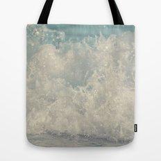 Saltwash III Splash of Lace and Pearls and Diamonds and Aquamarine Tote Bag