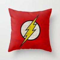 Flash (Super Minimalist series) Throw Pillow
