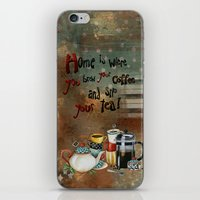Home Is Where You Brew Y… iPhone & iPod Skin