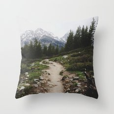 Teton Trail Throw Pillow